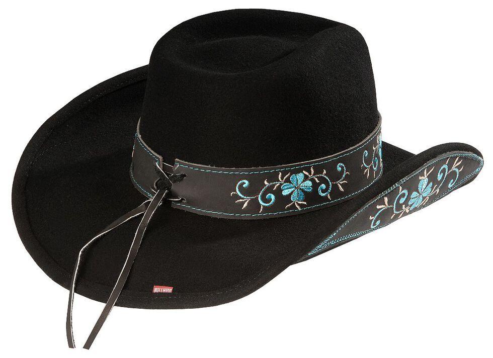 Bullhide All For Good Wool Cowboy Hat, Black, hi-res