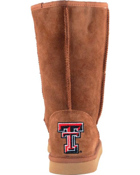 Gameday Boots Women's Texas Tech University Lambskin Boots, Tan, hi-res