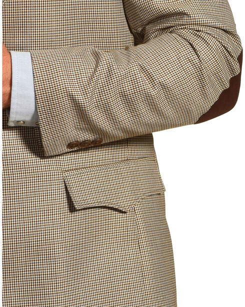 Circle S Men's Lubbock Elbow Patch Sport Coat, Brown, hi-res
