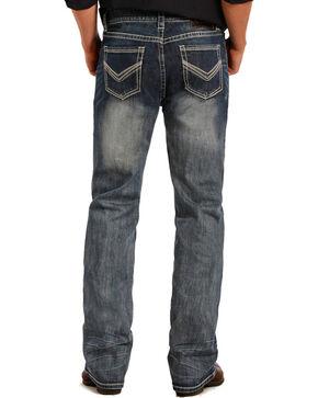 Rock & Roll Cowboy Men's Pistol Reflex Jeans - Straight Leg, Indigo, hi-res