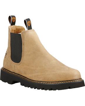 Ariat Men's Spot Hog Prairie Slip-On Shoes, Sand, hi-res