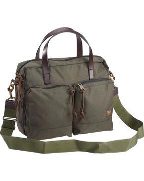 Filson Hunter Green Dryden Briefcase , Hunter Green, hi-res