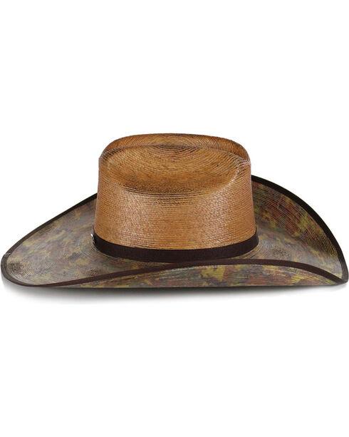 Justin Men's Camo Bent Trail Trapper Hat , Camouflage, hi-res