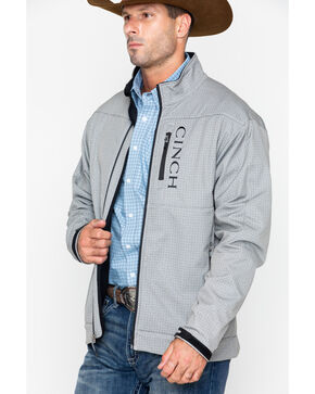 Cinch Men's Gray Bonded Conceal Carry Jacket, Grey, hi-res