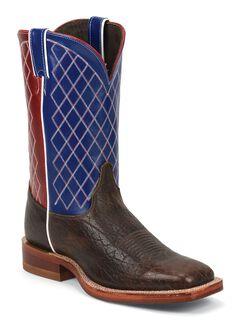 Justin Bent Rail Cowboy Boots - Square Toe, , hi-res