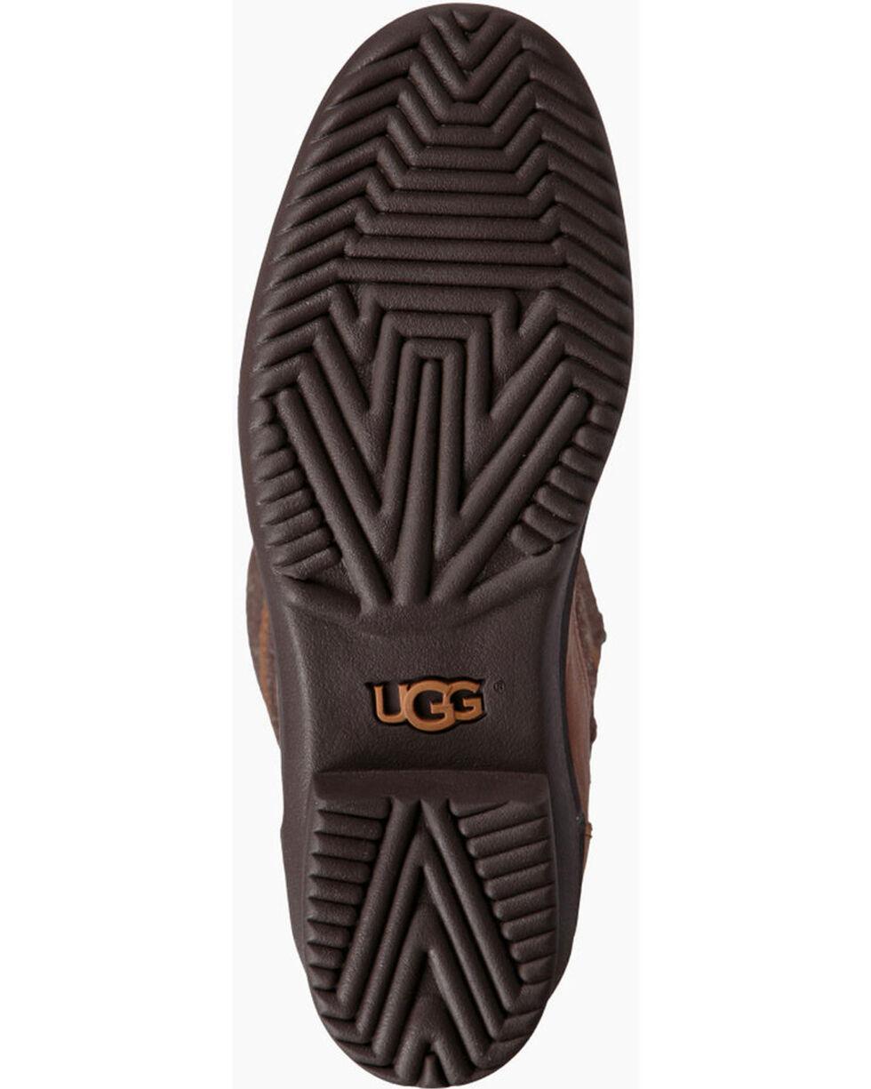 UGG Women's Chestnut Elvia Tall Boots - Round Toe , Chestnut, hi-res