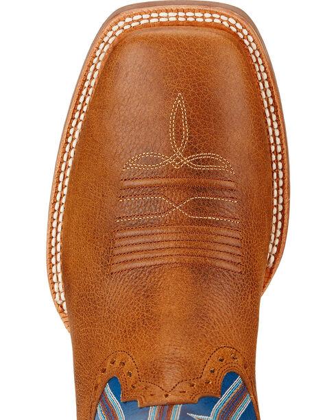 Ariat Live Wire Cowboy Boots - Square Toe , Copper, hi-res