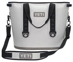 YETI Coolers Hopper 40 Soft Side Cooler , Grey, hi-res