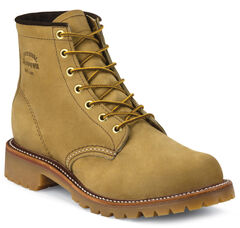 "Chippewa Men's 6"" Lace-Up Golden Apache Lugged Boots - Round Toe, , hi-res"
