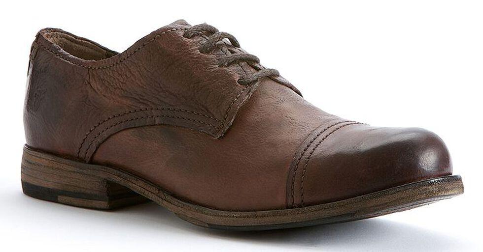 Frye Men's Johnny Oxford Shoes, Dark Brown, hi-res