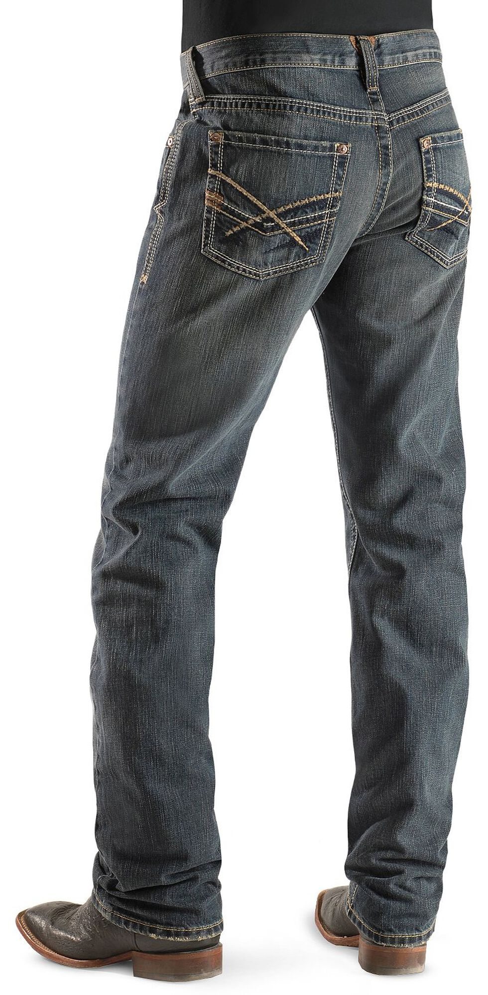 Ariat M5 Arrowhead Deadrun Wash Jeans, Denim, hi-res