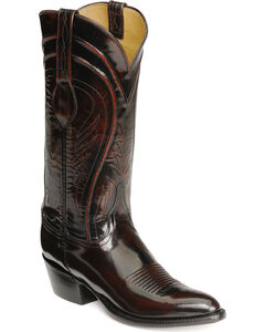 Lucchese Handcrafted Classics Seville Goatskin Boots - Pointed Toe, , hi-res