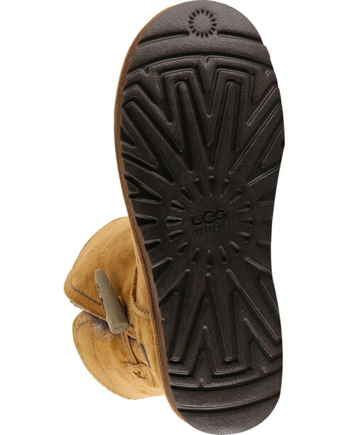 UGG Women's Chestnut Classic Cedar Meadow Boots - Round Toe , Brown, hi-res