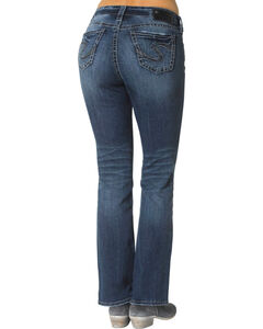 "Silver Women's Suki Slim Bootcut Jeans - 33"" Inseam, Denim, hi-res"