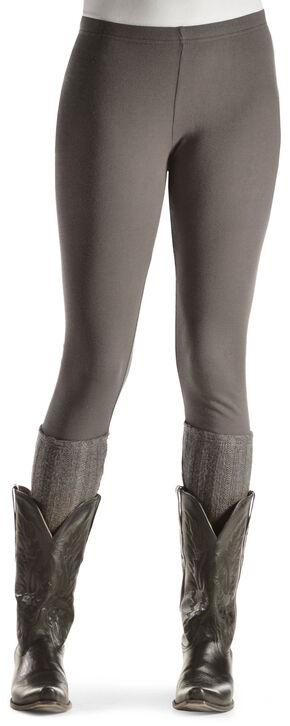Others Follow Grey Boot Sock Leggings, Grey, hi-res