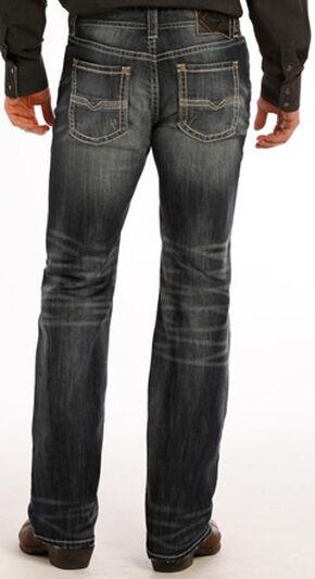 Rock and Roll Cowboy Pistol Flex Jeans - Straight Leg , Indigo, hi-res