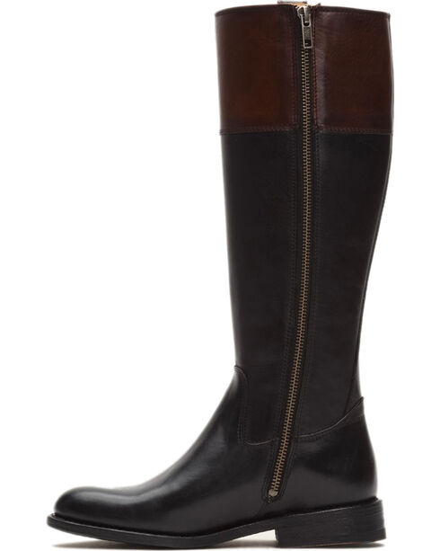 Frye Women's Redwood Jayden Button Tall Boots - Round Toe , Black, hi-res
