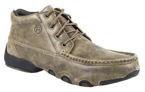 Roper Men's Driving Moc Chukka Boots, Brown, hi-res