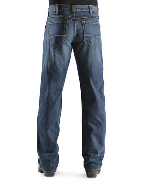 """Ariat Men's Heritage Denim Classic Fit Straight Leg Jeans - 38"""" Inseam, Dark Stone, hi-res"""