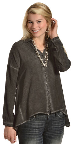 Black Swan Women's Melinda Top, Black, hi-res