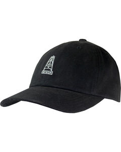 Hooey Men's Black Tycoon 6 Panel Baseball Cap , Black, hi-res
