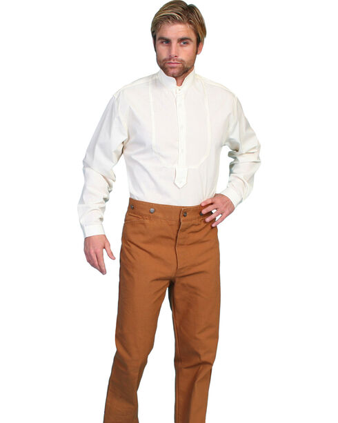 Wahmaker by Scully Canvas Saddle Seat Pants - Tall, Brown, hi-res