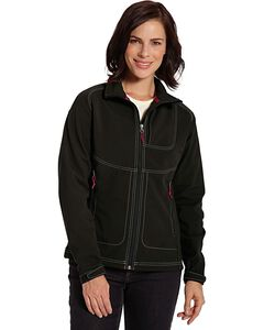 Woolrich Women's Radius Softshell Jacket, Black, hi-res