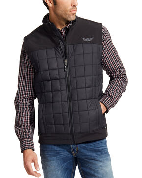 Ariat Men's Black Persistence Vest , Black, hi-res
