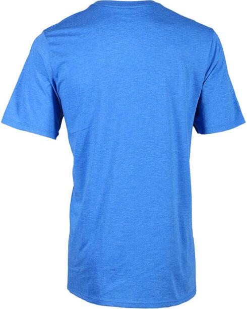 Hurley Men's Faded Logo Tee, Royal Blue, hi-res