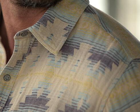 Ryan Michael Men's Aztec Jacquard Shirt , Multi, hi-res