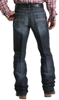 Cinch Men's Indigo Grant Mid-Rise Relaxed Fit Jeans - Boot Cut , , hi-res