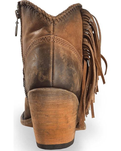 Liberty Black Women's Brown Vegas Faggio Short Boots - Round Toe , Brown, hi-res
