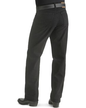 "Wrangler Jeans - Rugged Wear Relaxed Fit - Big. 44"" to 54"" Waist, Black, hi-res"
