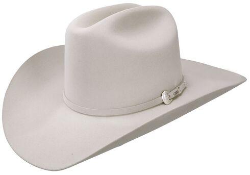 Resistol 6X Midnight Fur Felt Cowboy Hat, Silverbelly, hi-res