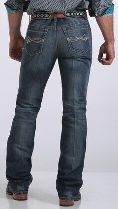 Cinch Men's Ian Mid-Rise Slim Fit Bootcut Jeans, , hi-res