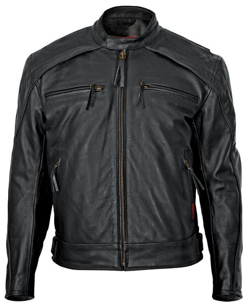 Milwaukee Motorcycle Leather Scooter Jacket, , hi-res