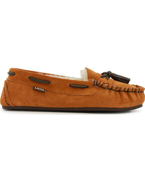Lamo Women's Dawn Slip On Shoes - Moc Toe , Chestnut, hi-res