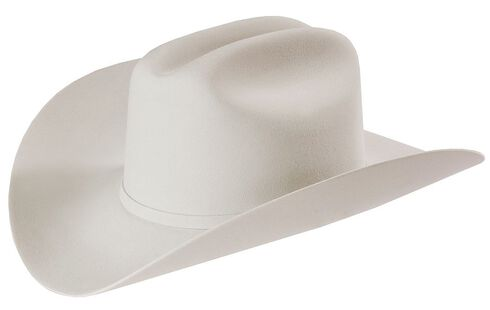 Larry Mahan Platinum Independencia 100X Fur Felt Western Hat, Platinum, hi-res