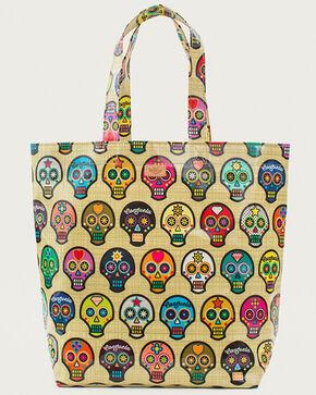 Consuela Women's Legacy Sugar Skulls Grocery Bag, Beige/khaki, hi-res