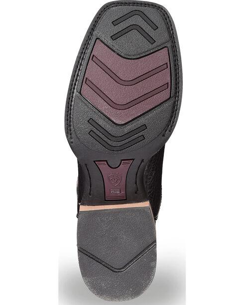 Ariat Tombstone Boots - Square Toe, Black, hi-res