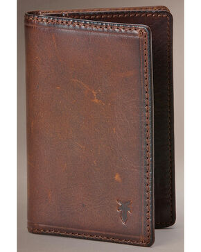Frye Men's Logan Small Wallet, Dark Brown, hi-res