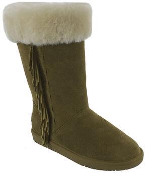 Minnetonka Women's Canyon Boots, Tan, hi-res