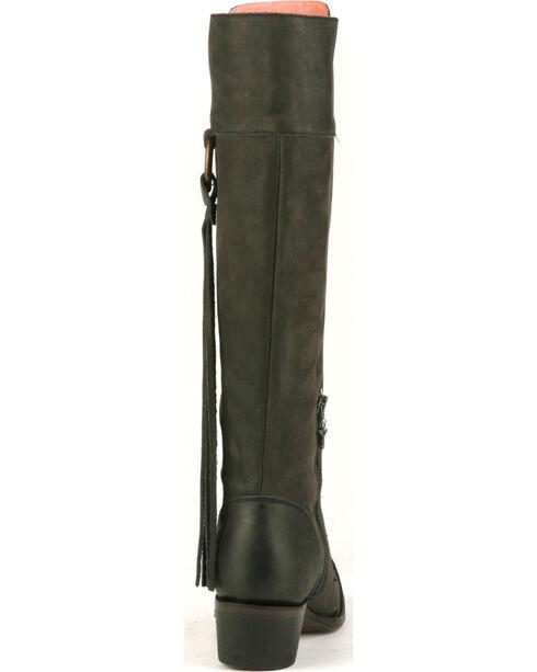 Junk Gypsy by Lane Black Trailblazer Lace-Up Boots - Snip Toe, Black, hi-res