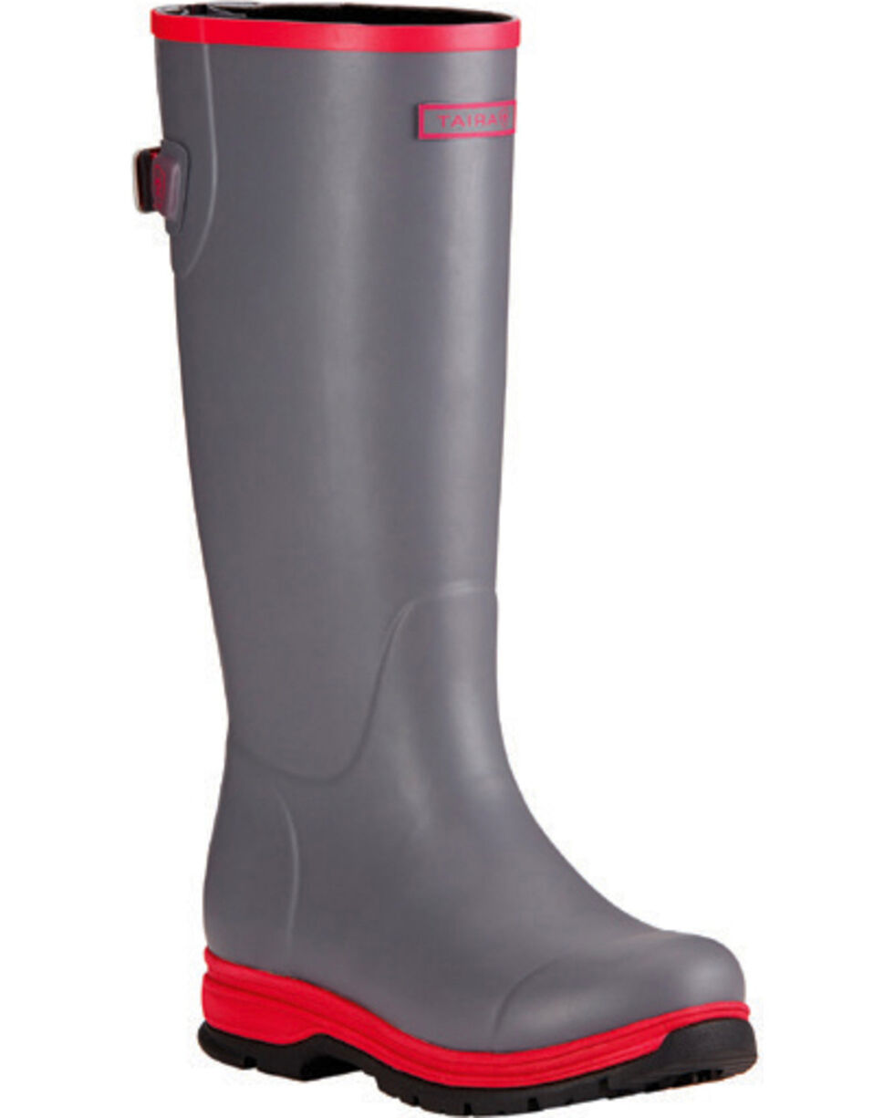 Ariat Women's Smoked Pearl Fernlee Rubber Outdoor Boots, Grey, hi-res
