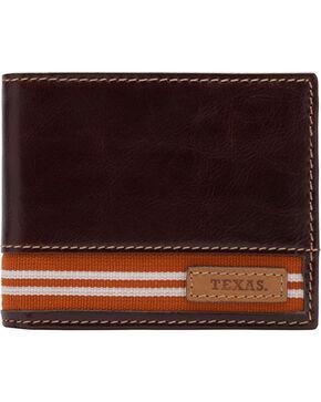 Jack Mason University of Texas Tailgate Traveler Wallet , Brown, hi-res