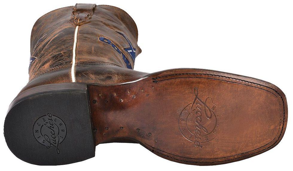 Lucchese Handmade 1883 Dallas Cowboys Mad Goat Horseman Boots, Tan, hi-res