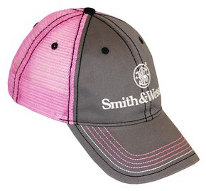 Smith & Wesson Pink Mesh Back Cap, Pink, hi-res
