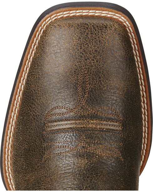 Ariat Men's Sport Western Boots - Square Toe, Brown, hi-res