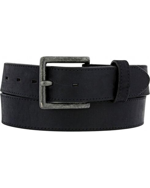 Chippewa Men's Black Sycamore Leather Belt , , hi-res