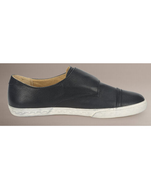 Frye Women's Mindy Monk Sneakers, Black, hi-res